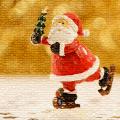 Santa na bruslich2